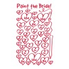 Paint to the bride - hen night T-Shirts - Women's Premium T-Shirt