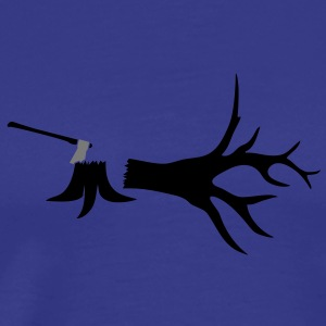 felled_tree T-shirts - Mannen Premium T-shirt