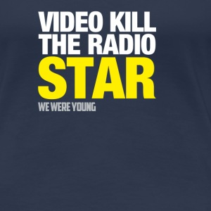 T-Shirt col rond The Radio Star - T-shirt Premium Femme
