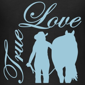 True Love Cowgirl & Horse T-Shirts - Frauen T-Shirt