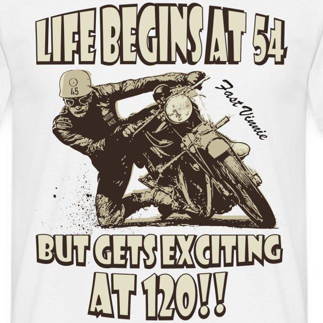 Life begins at 54