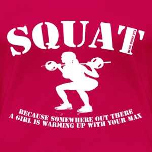 Squat (2) T-Shirts - Women's Premium T-Shirt