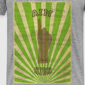 AIM HIGH - Männer Premium T-Shirt