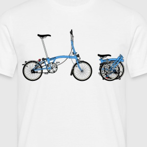 Brompton Bike T-Shirts - Men's T-Shirt