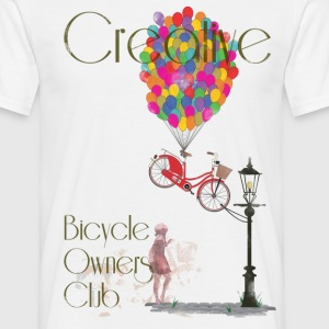 Creative Bicycle Owners Club T-Shirts - Men's T-Shirt