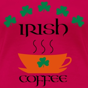 irish coffee T-Shirts - Frauen Premium T-Shirt