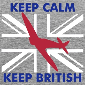 Spitfire Union Flag - Men's Premium T-Shirt