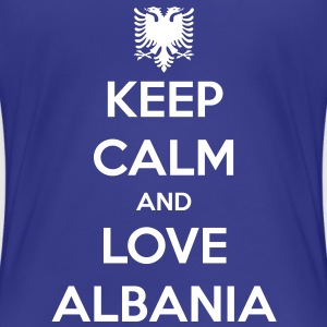 KEEP CALM AND LOVE KOSOVO Tee shirts - T-shirt Premium Femme