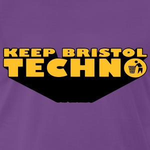 KEEP BRISTOL TECHNO T-Shirts - Men's Premium T-Shirt