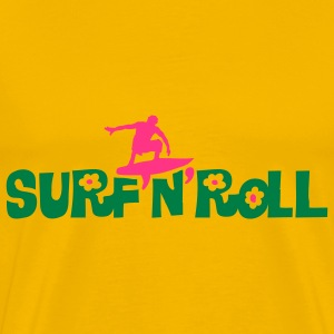 surf_and_roll T-skjorter - Premium T-skjorte for menn