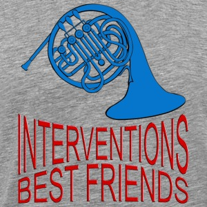 Interventions Best Friends | unisex shirt - Männer Premium T-Shirt