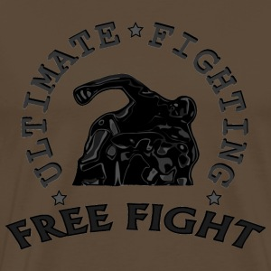 combattant au sol  free fight. Tee shirts - T-shirt Premium Homme