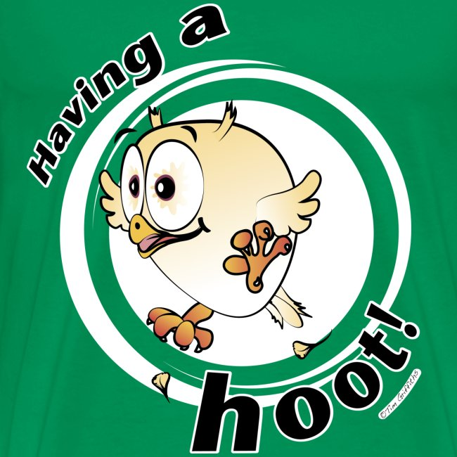 Having a hoot! (green)