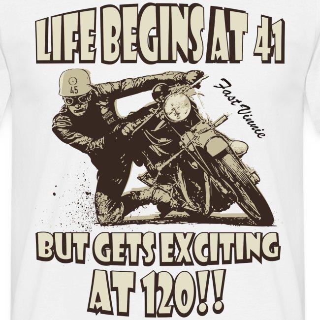 Life begins at 41