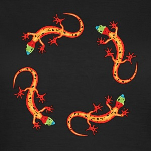 geckos circle T-Shirts - Women's T-Shirt