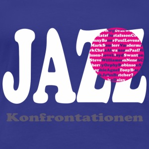 JAZZ confrontaties T-shirts - Vrouwen Premium T-shirt