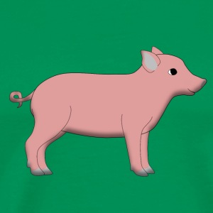 little pig T-skjorter - Premium T-skjorte for menn