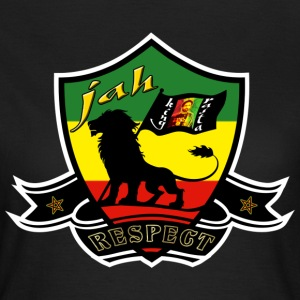 jah king rasta respect T-Shirts - Women's T-Shirt
