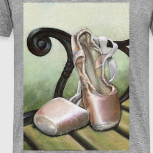 pointe shoes - Männer Premium T-Shirt