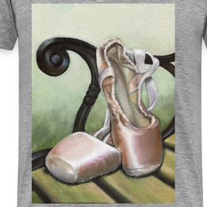 pointe shoes - Men's Premium T-Shirt