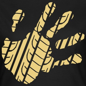 Handprint Tread  T-Shirts - Women's T-Shirt
