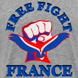 Free Fight France. MMA Tee shirts - T-shirt Premium Homme