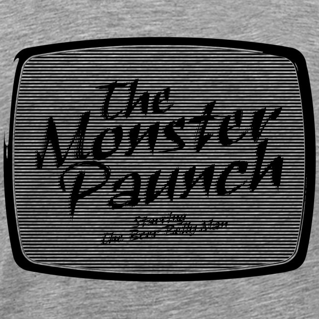 The Monster Paunch (black)