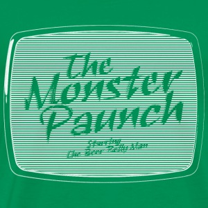 The Monster Paunch (white) - Männer Premium T-Shirt