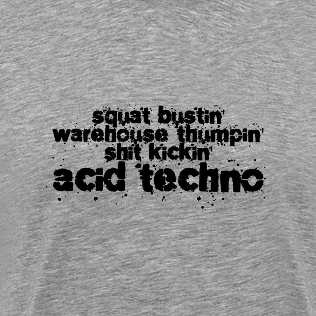 Squat Busting Black