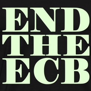 End the ECB Shirt - Männer Premium T-Shirt