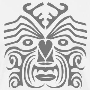 masque maori tribal tattoo9 ethnique Tee shirts - T-shirt Premium Homme