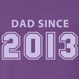 DAD SINCE 2013 T-Shirt FL - Männer Premium T-Shirt