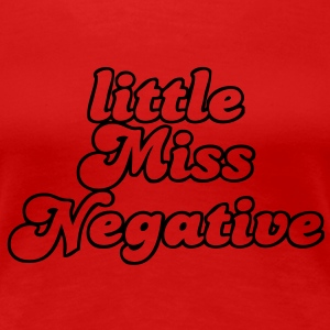 little Miss Negative T-shirts - Premium-T-shirt dam