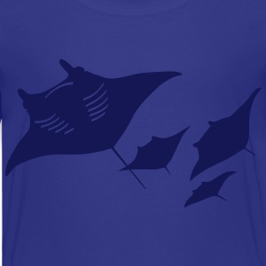 manta ray rochen taucher tauchen scuba diving dive T-Shirts - Kinder Premium T-Shirt