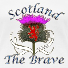 Scotland the brave thistle T-Shirts