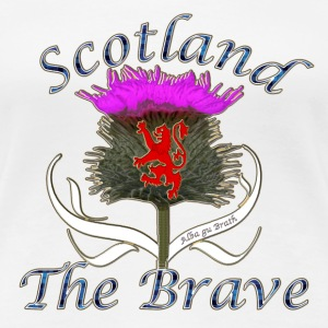 Scotland the brave thistle T-Shirts - Women's Premium T-Shirt