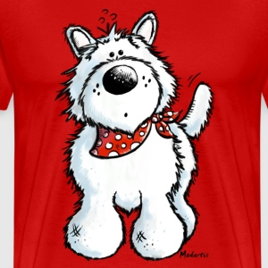 West Highland White Terrier - Westie – chien Tee shirts - T-shirt Premium Homme