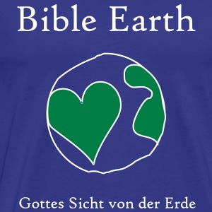 Bible Earth (JESUS-shirts) - Männer Premium T-Shirt