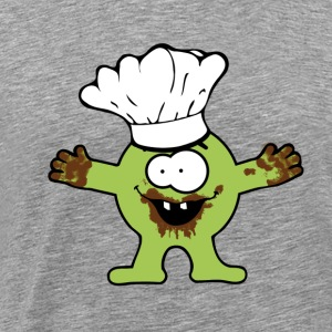 cooking/baking Monster T-Shirts - Men's Premium T-Shirt