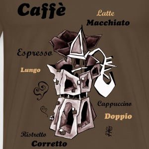 Coffee Moka Express - Italy - Men's Premium T-Shirt