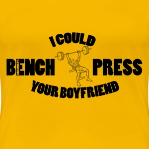 Bench Press T-Shirts - Women's Premium T-Shirt