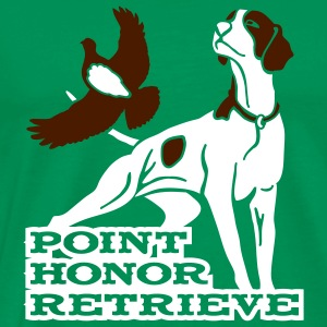 pointer_honor T-shirts - Premium-T-shirt herr