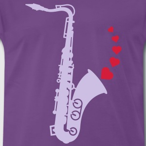 Sax and Love T-Shirts - Men's Premium T-Shirt