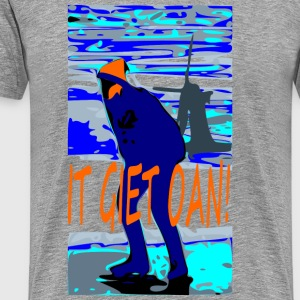 It giet oan T-shirts - Mannen Premium T-shirt