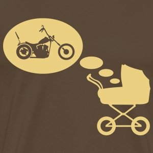 Stroller dream chopper  T-Shirts - Men's Premium T-Shirt