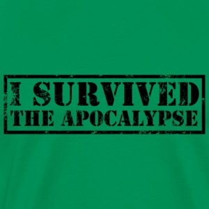 I survived the Apocalypse T-Shirt - Männer Premium T-Shirt