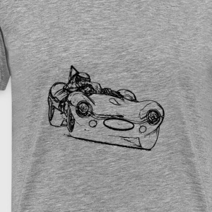 Jaguar D Type T-Shirts - Men's Premium T-Shirt