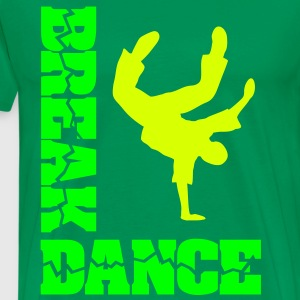 Breakdance Breaker B-boy breakdancer T-Shirts  - Männer Premium T-Shirt