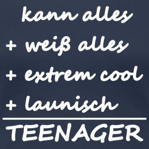 Teenager T-Shirts - Frauen Premium T-Shirt
