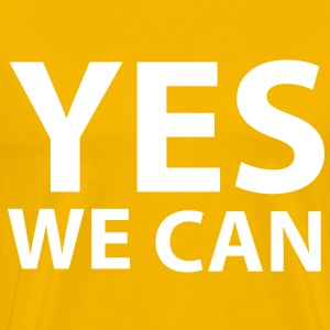 Yes we can Tee shirts - T-shirt Premium Homme